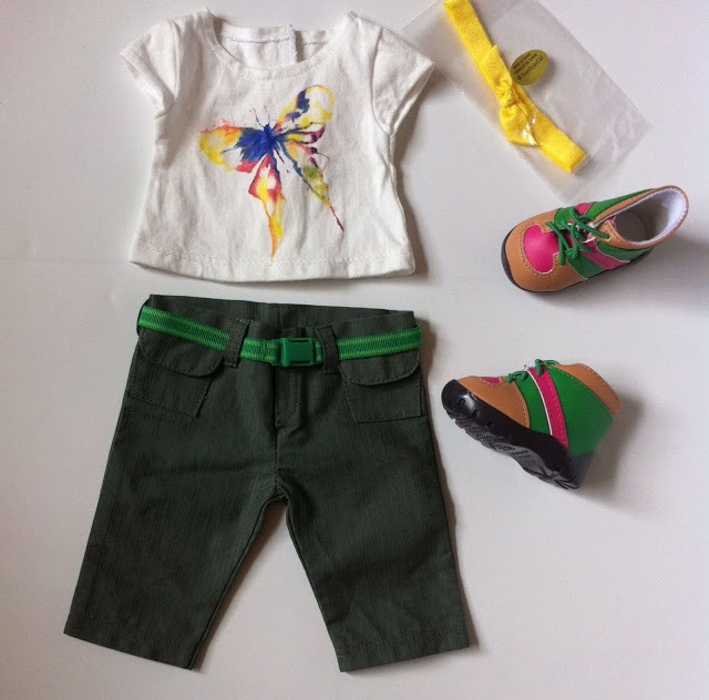 American Girl Girl of the Year 2016 Lea Clark Explorer/Hiking Outfit