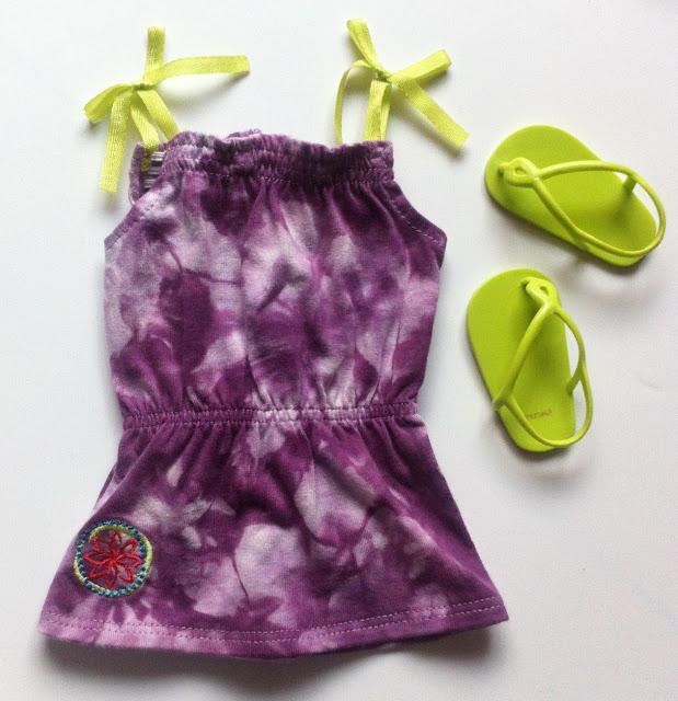 American Girl Girl of the Year 2016 Lea Clark Purple Dress